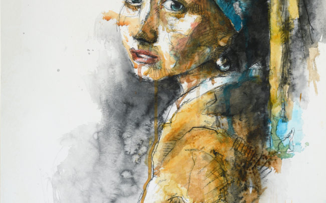 The Girl With The Pearl from Vermeer